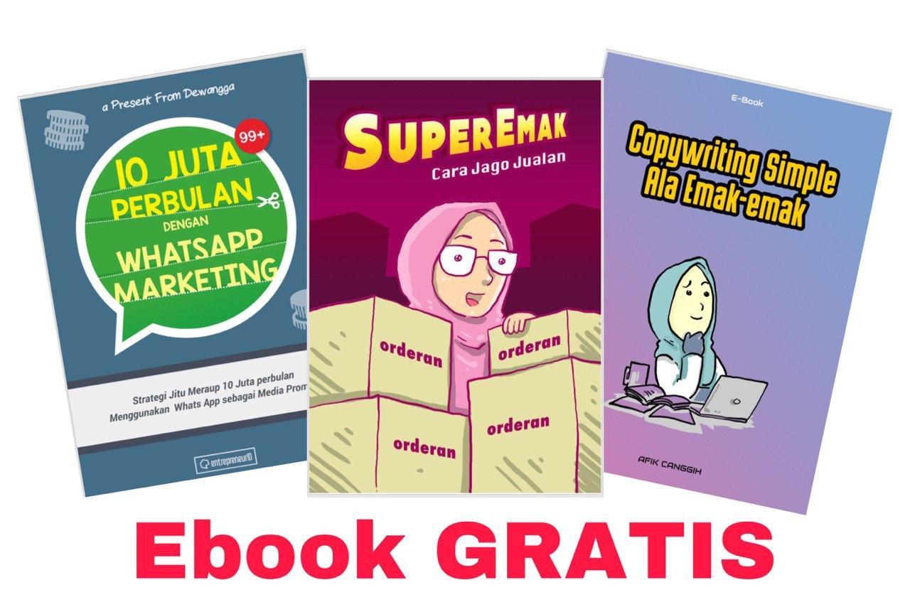 3-Ebook GRATIS MyWayIndo-Bisnis My Way Indonesia