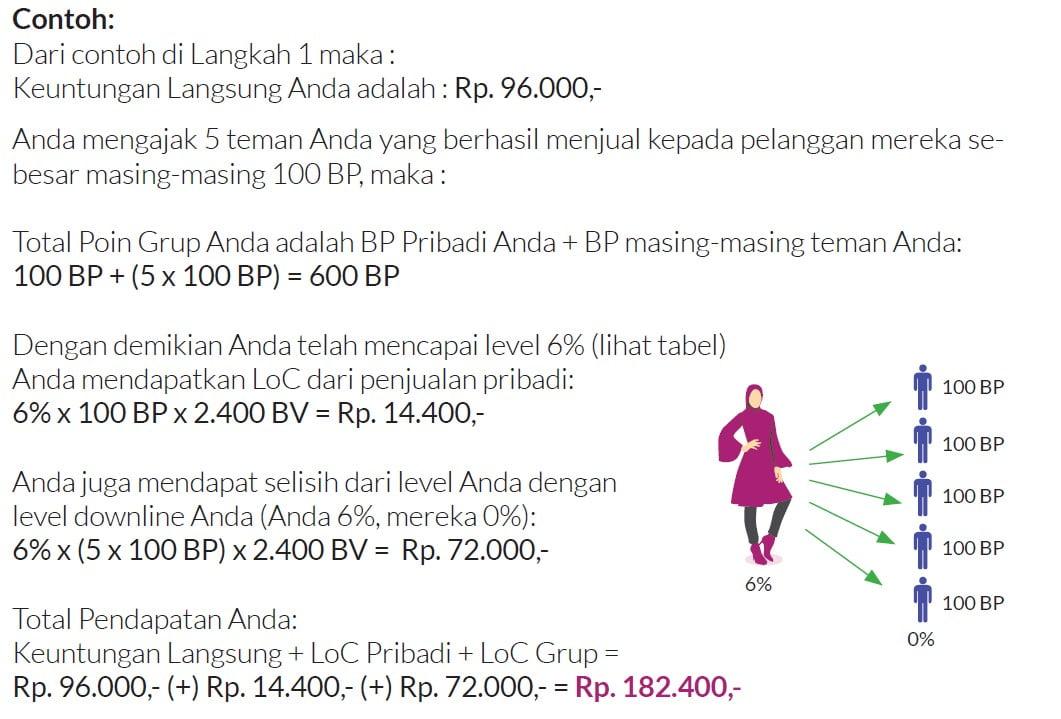 Keuntungan Langsung Bisnis My Way Indonesia - Marketing Plan
