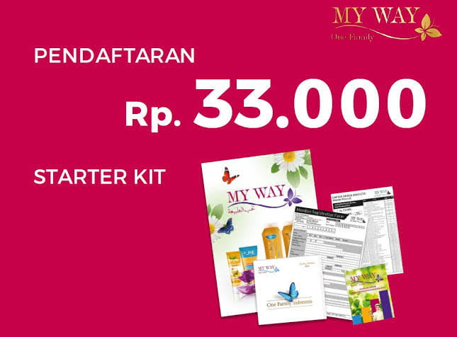 Join Daftar Member My Way Indonesia Bisnis MyWay Modal Kecil