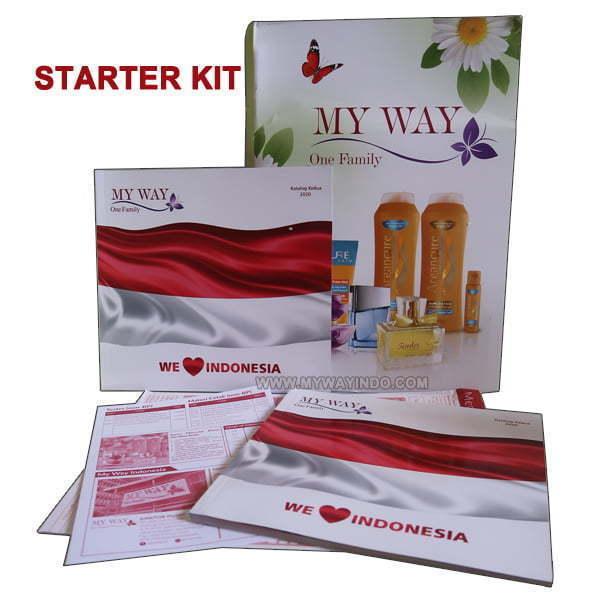 Starter Kit - Registrasi Daftar Member Bisnis My Way Indonesia-MyWay