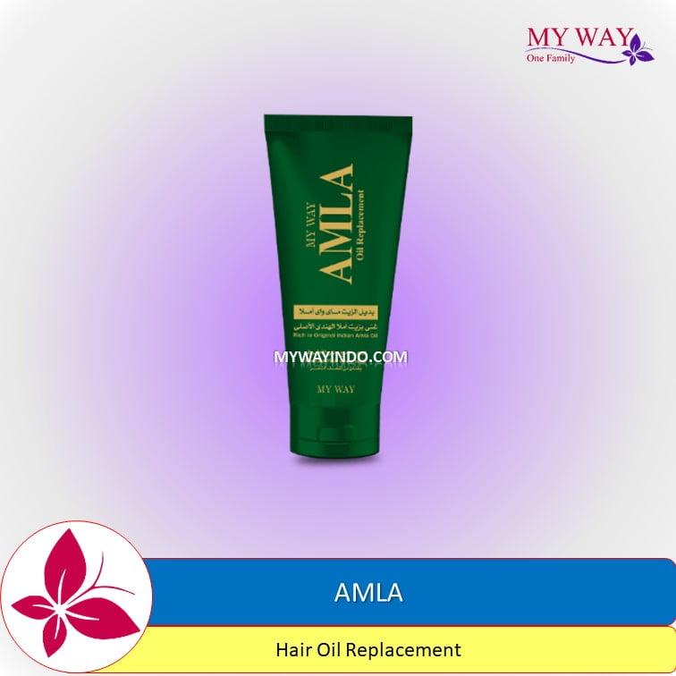 AMLA Hair Oil Replacement Minyak Rambut Beruban MyWay