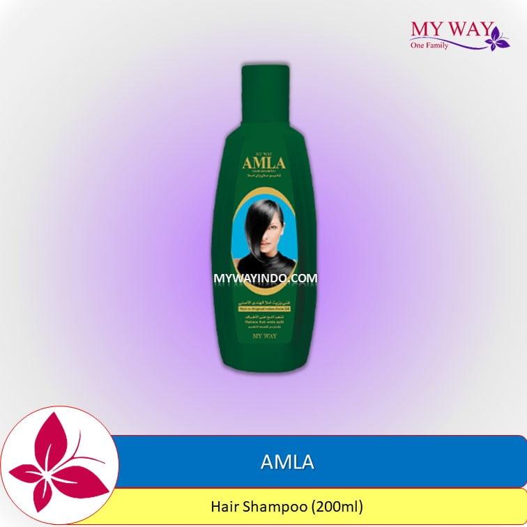 Shampoo Amla My Way, Sampoo mencegah menghitamkan rambut uban