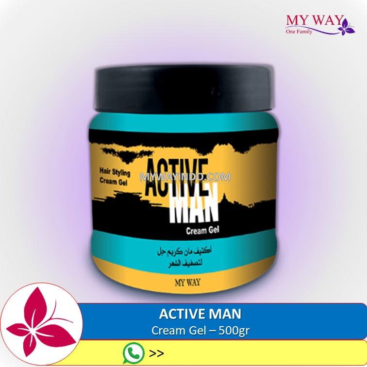 Active Man Cream Gel Rambut MyWay Indonesia