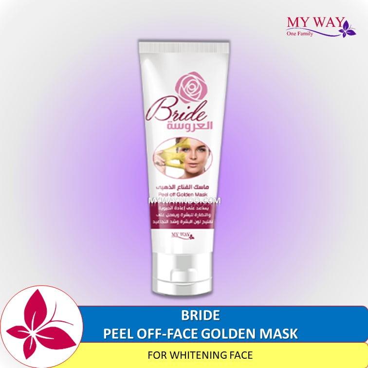 Gold Masker Emas My Way Pencerah Wajah The Bride