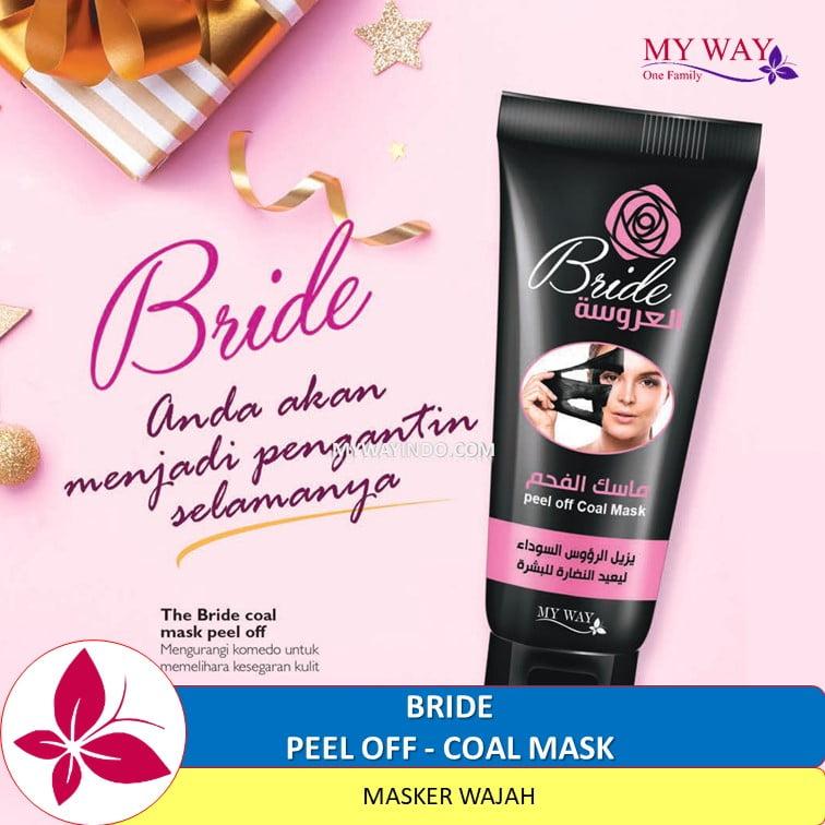 Coal Masker Wajah Peel Off MyWay Indonesia Produk Original