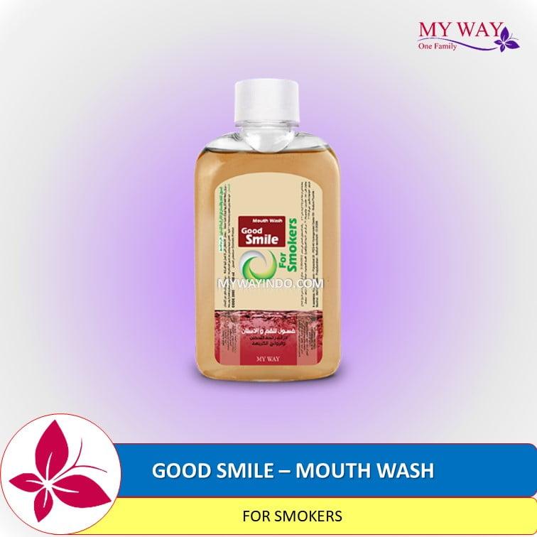 Good Smile Mouth Wash for Smokers Obat Kumur Perokok