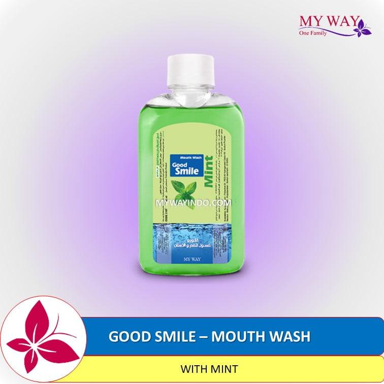 Good Smile Mouth Wash with MINT Obat Kumur