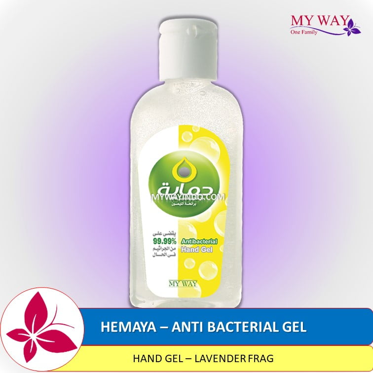 HEMAYA-Anti-Bacterial Hand Gel untuk Tangan-Lemon