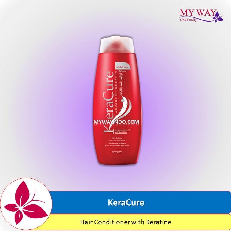 KeraCure Hair Conditioner with Keratine Hair Care dari My Way Indonesia