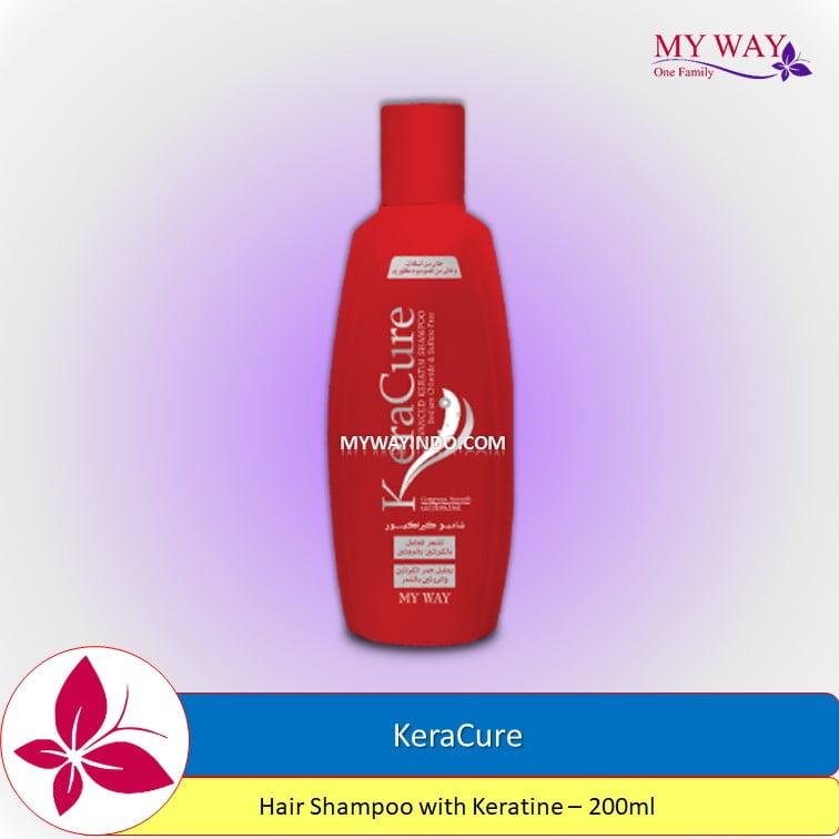 My Way KeraCure-Hair Shampoo with Keratine -200ml