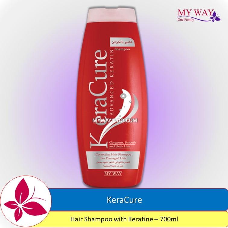 KeraCure-Hair Shampoo with Keratine -700ml