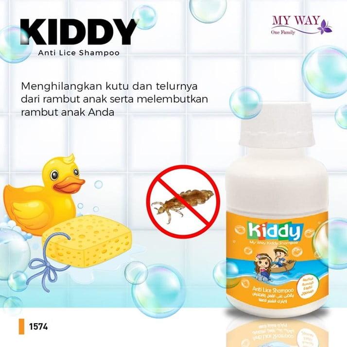Kiddy Anti Lice Shampoo, Sampo Anti Kutu Anak