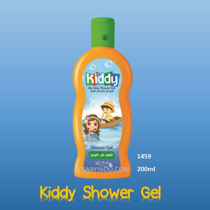 My Way Kiddy Shower Gel, Sabun Mandi Bayi tidak Perih di mata