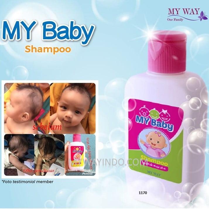 My Baby Shampoo - Jual Produk Sampo Bayi My Way Original