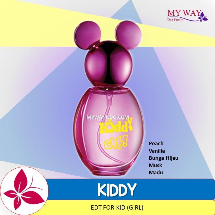 Parfum KIDDY - EDT untuk Anak Cewek My Way Wangi Arab Mesir Murah