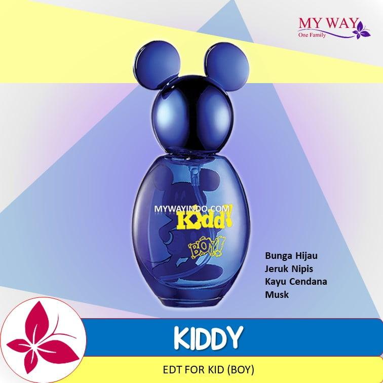 Jual Parfum KIDDY - EDT untuk Anak Cowok My Way Wangi Arab
