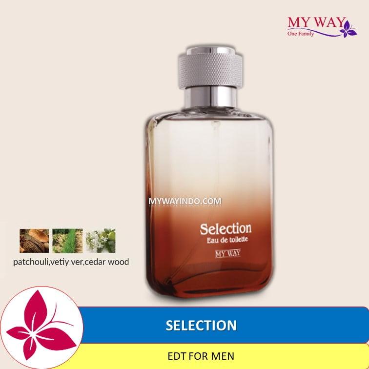 Parfum SELECTION - EDT untuk Pria My Way Aroma Arab Mesir Murah