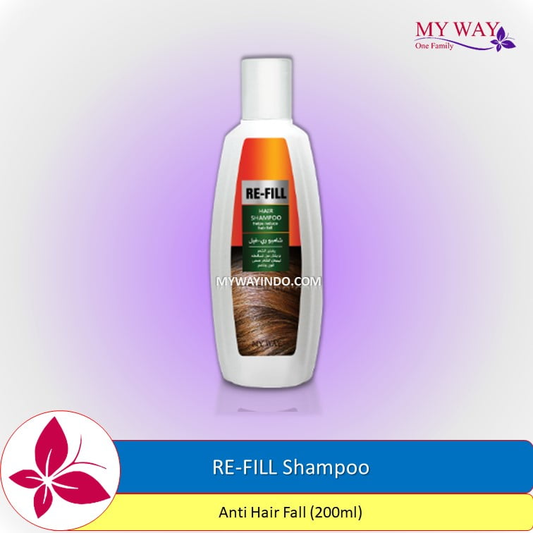 RE-FILL Anti Hair Fall Hair Shampoo Anti Rambut Rontok Bisnis My Way