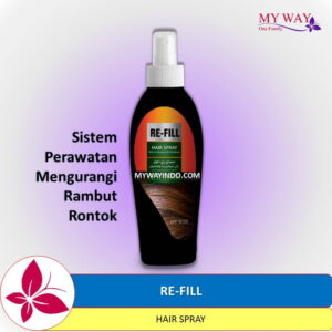 RE-FILL Hair Spray- Anti Hair Fall Perawatan Rambut Rontok