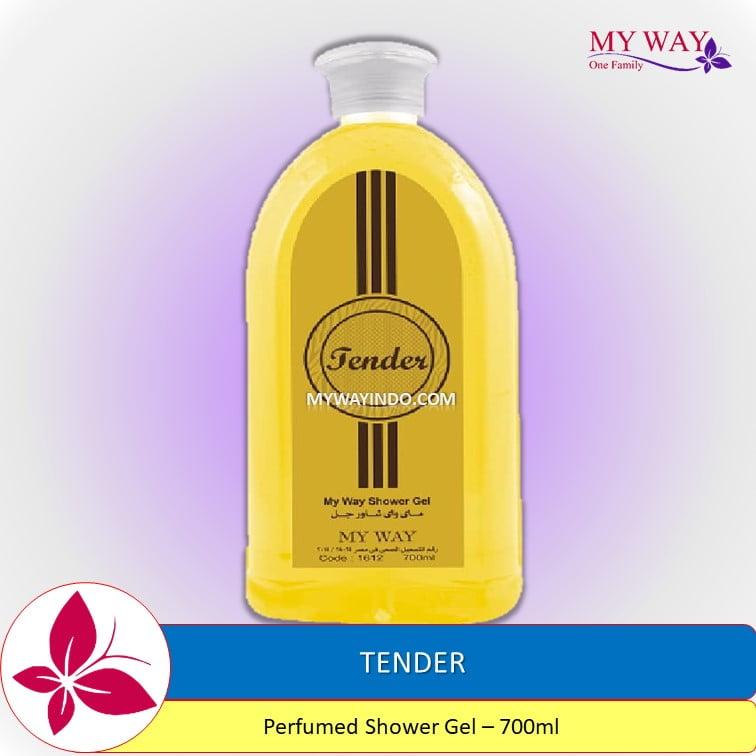 TENDER-Perfumed Shower Gel Sabun Mandi My Way