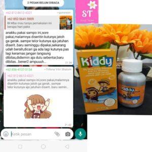 Testimoni Kiddy Shampoo Anti Lice-Bersihkan Kutu Rambut Anak-Gunawan